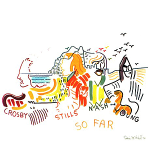 CROSBY, STILLS, NASH & YOUNG – «So Far» (1974)
