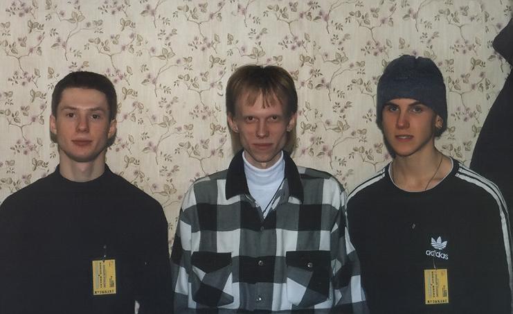 Gruppa_KAZEMAT_(Mihail_Lyashenko_Igor_Shamarin_Sergey_Zolotuhin)_koncert_v_Gorbushke_(1999)_02